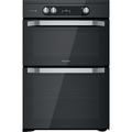 Hotpoint 60cm Double Oven Induction Cooker - HDM67I9H2CB