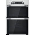 Hotpoint 60cm Double Oven Induction Cooker - HDM67I9H2CX