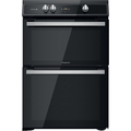 Hotpoint 60cm Double Oven Induction Cooker - HDT67I9HM2C