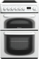 Hotpoint 60cm Double Oven Electric Cooker - 60HEP