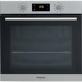 Hotpoint 60cm Fan Assisted Pyro Single Oven - SA2840PIX