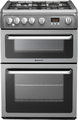 Hotpoint 60cm Double Oven Gas Cooker - HAG60G