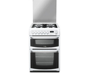 Hotpoint 60cm Double Oven Dual Fuel Cooker - CH60DHWFS (Harrogate)