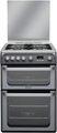 Hotpoint 60cm Double Oven Gas Cooker - HUG61G (Ultima)