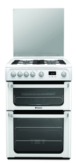 Hotpoint 60cm Double Oven Gas Cooker - HUG61P (Ultima)