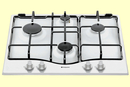 Hotpoint 60cm Gas Hob - GC640WH (New Style)