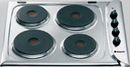 Hotpoint 60cm Solid Plate Hob - E601X