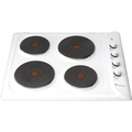 Hotpoint 60cm Solid Plate Hob - E6041W