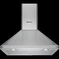 Hotpoint 70cm Chimney Cooker Hood - HHP75CM