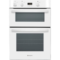 Hotpoint 90cm Built In Electric Double Oven - DH53W