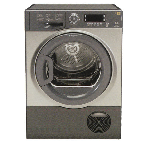 Hotpoint 9kg Condenser Tumble Dryer Graphite Sutcd97b6gm