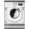 Hotpoint 7+5kg, 1400 Integrated Spin Washer Dryer - BIWDHG7148