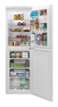Hoover 55cm Static Fridge Freezer - HSC574W