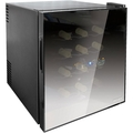 Husky 16 Bottle Mirrored Glass Wine Cooler - HN5