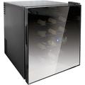 Husky 16 Bottle Mirrored Glass Wine Cooler - HN5