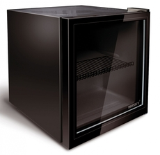 Husky 43cm Black Glass Drinks Chiller - HY192