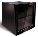 Husky 44cm Black Glass Drinks Chiller - HY192