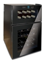 Husky 24 Bottle Dual Zone Wine Cooler - HN7
