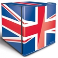 Husky 43cm Union Flag Table Top Fridge - EL193