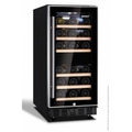 Husky ZY3 26 Bottle Signature Dual Zone Wine Cooler - HUS-ZY3-D-NS-26