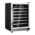 Husky ZY6 52 Bottle Signature Single Zone Wine Cooler - HUS-ZY6-S-SS-52