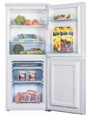 Ice-King 50cm Static Fridge Freezer - IK9045AP
