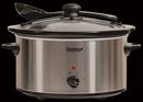 Igenix 4.5 Litre Stainless Steel Slow Cooker - IG8450