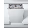 Indesit 10PL Slimline Integrated Dishwasher - DSIO3T224EZ