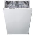 Indesit 10PL Integrated Slimline Dishwasher - DSIE2B10