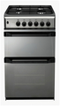 Indesit 50cm Double Oven Gas Cooker - IT50GM