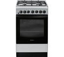 Indesit 50cm Dual Fuel Cooker - IS5G4PHSS