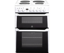 Indesit 60cm Double Oven Electric Cooker - ID60E2WS (Advance)