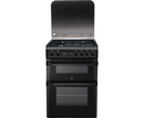 Indesit 60cm Double Oven Gas Cooker - ID60G2A