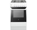 Indesit 50cm Single Cavity Gas Cooker - IS50GW