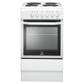 Indesit 50cm Single Cavity Electric Cooker - IS5E4KHW