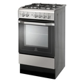 Indesit 50cm Single Cavity Gas Cooker - I5GG1(X)