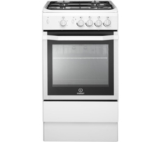 Indesit 50cm Single Cavity Gas Cooker - I5GG(W)