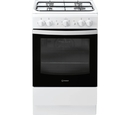 Indesit 50cm Single Cavity Gas Cooker - IS5G1KMW