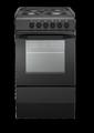 Indesit 50cm Single Cavity Electric Cooker - I5ESH(A)