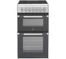 Indesit 50cm Twin Cavity Electric Cooker - IT50C1S