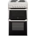 Indesit 50cm Twin Cavity Electric Cooker - IT50EWS (Advance)