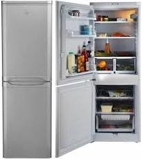 Indesit 55cm Static Fridge Freezer - NCAA55S (Start)