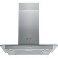 Indesit 60cm Chimney Hood - IHF65LMX