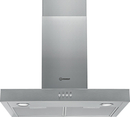 Indesit 60cm Chimney Hood - INBS65LMX