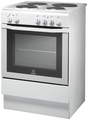 Indesit 60cm Single Cavity Electric Cooker - I6EVAW