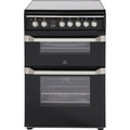 Indesit 60cm Double Oven Electric Cooker - ID60C2K