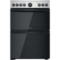 Indesit 60cm Double Oven Electric Cooker - ID67V9HCXUK