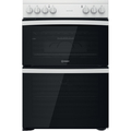 Indesit 60cm Double Oven Electric Cooker - ID67V9KMWUK