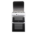 Indesit 60cm Double Oven Gas Cooker - ID60G2W