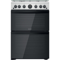 Indesit 60cm Double Oven Gas Cooker - ID67G0MCXUK